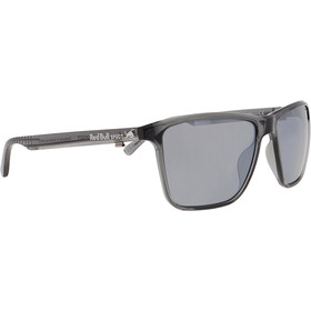 Red Bull SPECT Blade Sunglasses Men, shiny x'tal grey/smoke-silver mirror